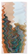 Abstract  Four Of Twenty One Beach Towel