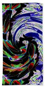 Abstract Fusion 161   Beach Towel