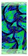 Abstract Fusion 167 Beach Towel