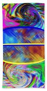 Abstract Fusion 173 Beach Towel
