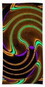 Abstract Fusion 174 Beach Towel