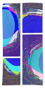 Abstract Fusion 178 Beach Towel