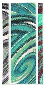 Abstract Fusion 180 Beach Towel