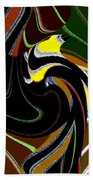 Abstract Fusion 183 Beach Towel