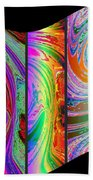 Abstract Fusion 184 Beach Towel