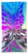 Abstract Fusion 196 Beach Towel by Will Borden