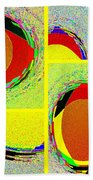 Abstract Fusion 199 Beach Towel