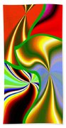 Abstract Fusion 200 Beach Towel