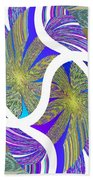 Abstract Fusion 203 Beach Towel