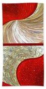 Abstract Fusion 218 Beach Towel
