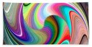 Abstract Fusion 241 Beach Towel