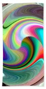 Abstract Fusion 241 Beach Towel