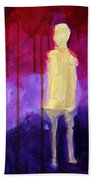 Abstract Ghost Figure No. 3 Beach Towel