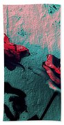 Abstract Hdr Roses Beach Towel
