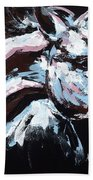 Abstract Horse Beach Towel