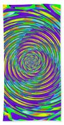 Abstract Hypnotic Beach Towel by Kenny Francis