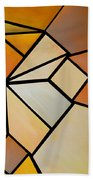 Abstract Impossible Warm Figure Beach Towel