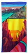 Abstract Landscapes Beach Towel
