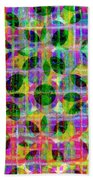 Abstract Lines 17 Beach Towel