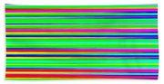 Abstract Lines 3 Beach Sheet