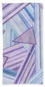 Abstract Lines Beach Towel
