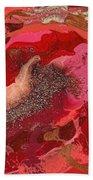 Abstract - Nail Polish - Love Beach Towel