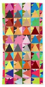 Abstract Of Colors  Beach Towel