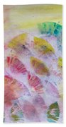 Abstract Petals Beach Towel