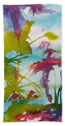 Abstract -  Primordial Life Beach Towel