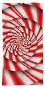 Abstract - Spirals - The Power Of Mint Beach Towel