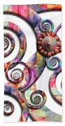Abstract - Spirals - Wonderland Beach Towel