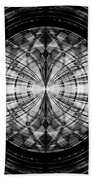 Abstract Structure 2 Beach Towel