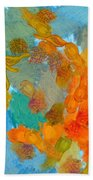 Abstract Summer #2 Beach Towel by Pixel Chimp
