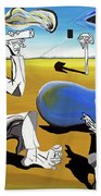 Abstract Surrealism Beach Towel