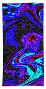 Abstract Swirl Art Beach Towel