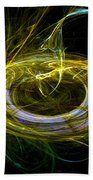 Abstract - The Ring Beach Towel