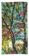 Abstract Tree Beach Towel