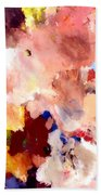 Abstract Two Beach Towel