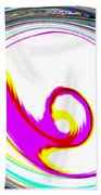 Abstract Vortex Beach Towel