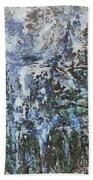 Abstract Winter Landscape Beach Towel