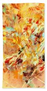 Abstraction 0263 Marucii Beach Towel