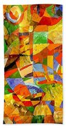 Abstraction 0368 Marucii Beach Towel