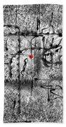 Abstraction 0416 Marucii Beach Towel