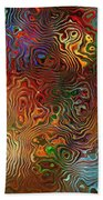 Abstraction 0612 Marucii Beach Towel