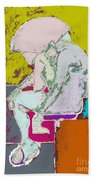 Abstraction 113 Beach Towel