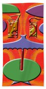 Abstraction 177 Beach Towel