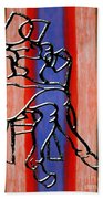 Abstraction 232 Beach Towel by Patrick J Murphy