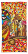 Abstraction 445 - Marucii Beach Towel