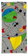 Abstraction 575 - Marucii Beach Towel
