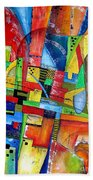 Abstraction 599-14 - Marucii Beach Towel